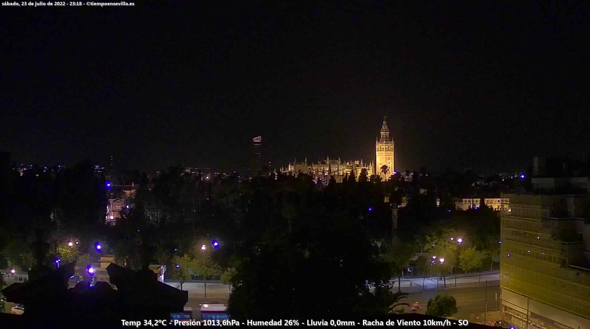 Webcam Sevilla
